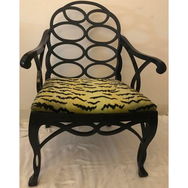 """Truex American Furniture """"Loop Chair"""" - Image 2 of 4"""