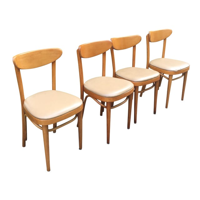 Mid Century Dining Chairs - 4 - Image 1 of 5