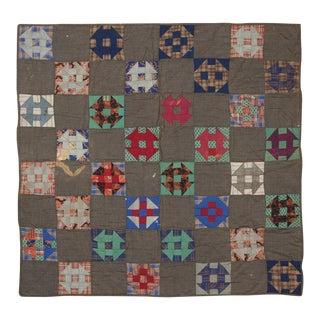 Geometric Multicolor Handmade Quilt