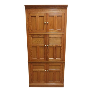 Pennsylvania House Linen Press Armoire Media Tv Cabinet