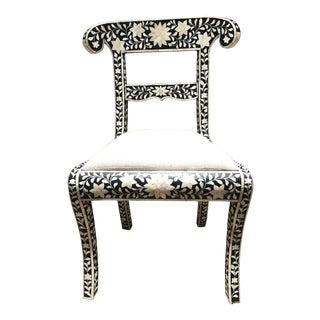 Bone Inlay Side Chair