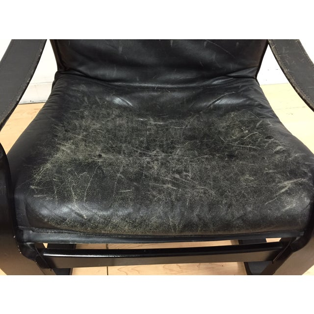 Nelo Leather Lounge Chair - Image 8 of 10