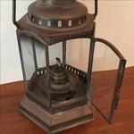 Image of Vintage Copper & Brass Oil Lantern