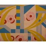 Image of Authentic Art Deco Wallpaper Art Sample