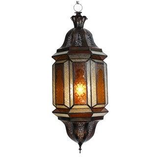 Glass Moroccan Lantern
