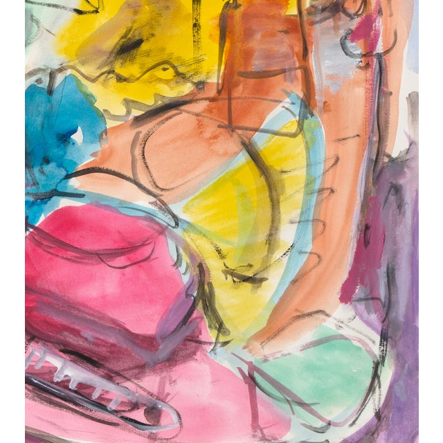 Expressionist Still Life Painting - Image 4 of 6