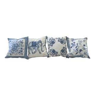 Jim Thompson Decorative Pillows - Set of 4