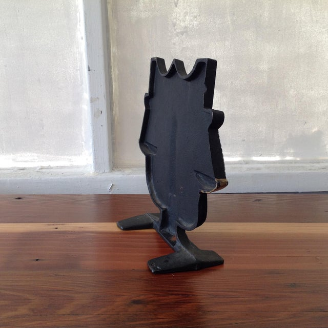 Cast Iron Scale of Justice Door Stop - Image 4 of 11