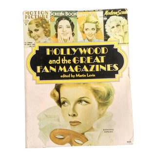 1971 Old Hollywood Magazine Stories Paperback Book
