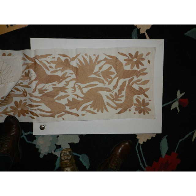 Traditional Otomi Table Runner - Image 3 of 4