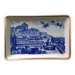 Vista Alegre Porcelain Ashtray