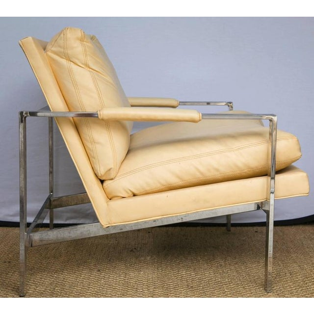 Milo Baughman for Thayer Coggin Club Chairs, Pair - Image 3 of 10