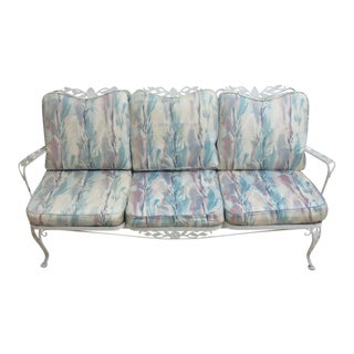 Vintage Outdoor Iron Sofa