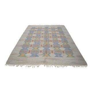 "Judith Johansson Swedish Rolakan Carpet - 7' X 9'5"""