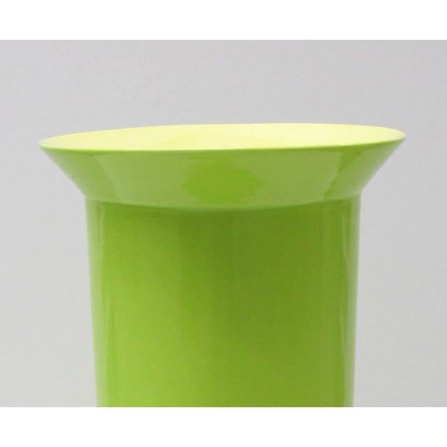 Image of Middle Kingdom Lime Green Porcelain Vase