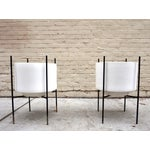 Image of Iron Stands Large Gainey Planters - Pair