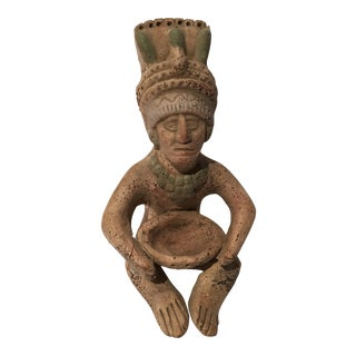 Central American Figure of a Sitting Man