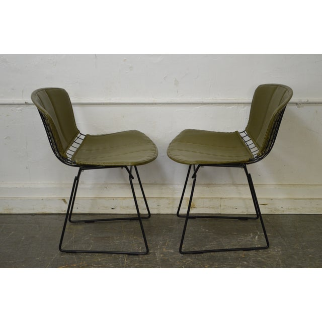 Bertoia for Knoll Mid Century Wire Side Dining Chairs - Set of 12 - Image 3 of 10