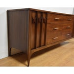 Image of Kent Coffey Perspecta Walnut & Rosewood Dresser
