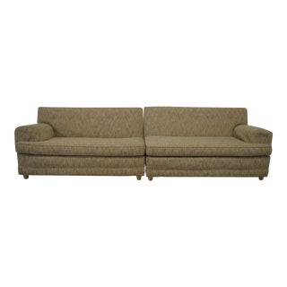 Vintage-Modern Sectional Sofa