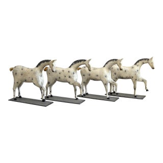 Set of Four Toy Horses (#32-28)