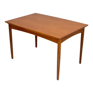 Fine 1960s Danish Teak Extension Dining Table