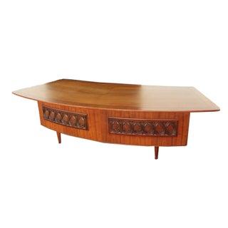 Modern Monteverdi Young Grand Executive Desk