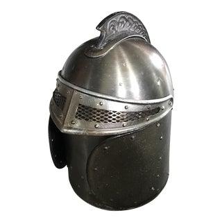 Vintage Medieval Knights Helmet Ice Bucket