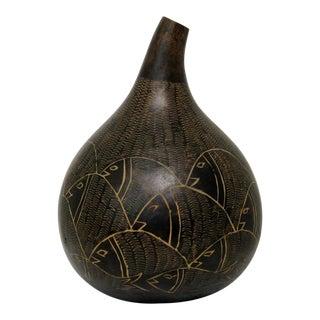 Oversized Gourd Vase