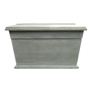 Vintage Waxed Solid Wood Storage Box