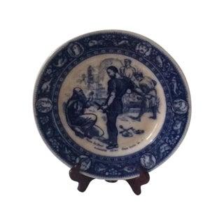 Rare 1870's Wedgewood Ivanhoe Plate