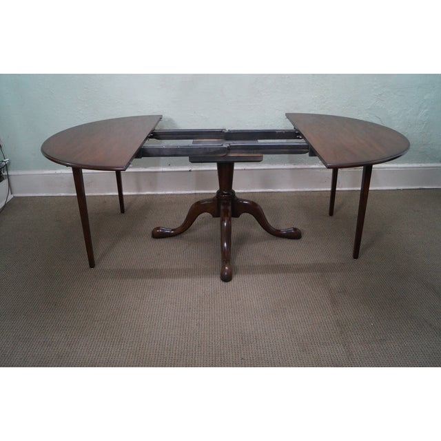 Kittinger Solid Mahogany Extension Dining Table - Image 6 of 10