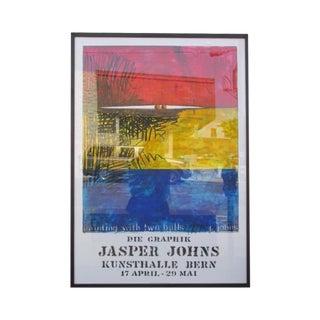 "Jasper Johns ""Die Graphic"" Lithograph"