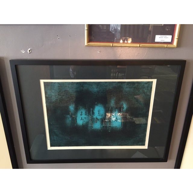 Large Color Etching by Juichi Saito - Image 3 of 6