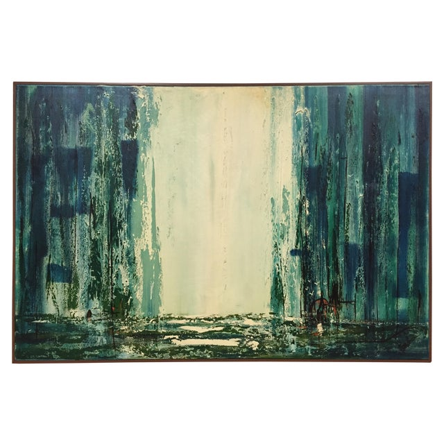 Carlo Of Hollywood Abstract Painting - Image 1 of 11