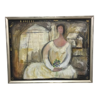Wedding Day Mixed Media Painting by the Artist Holland Berkeley