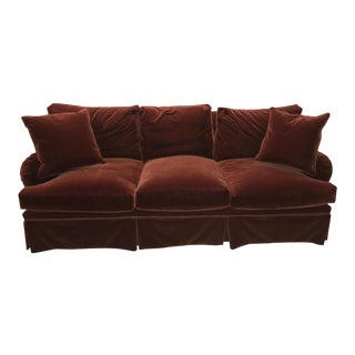 Mohair Upholstered O'Henry House Sofa