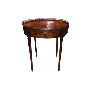 Louis XVI Style Mahogany Circular Center or End Table