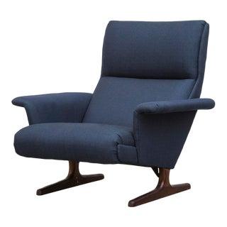 Kjaerholm Style Lounge Chair with Rosewood Legs by Gelderland