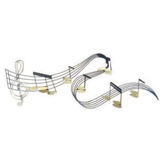 Jere Musical Notes Wall Sculpture