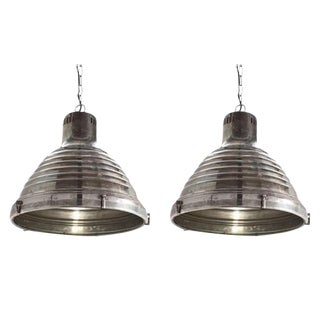 Arteriors Kenneth Pendant Lights - A Pair