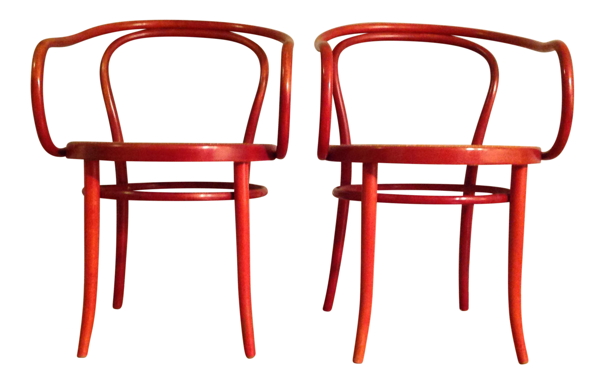 Thonet Bentwood Chairs   A Pair