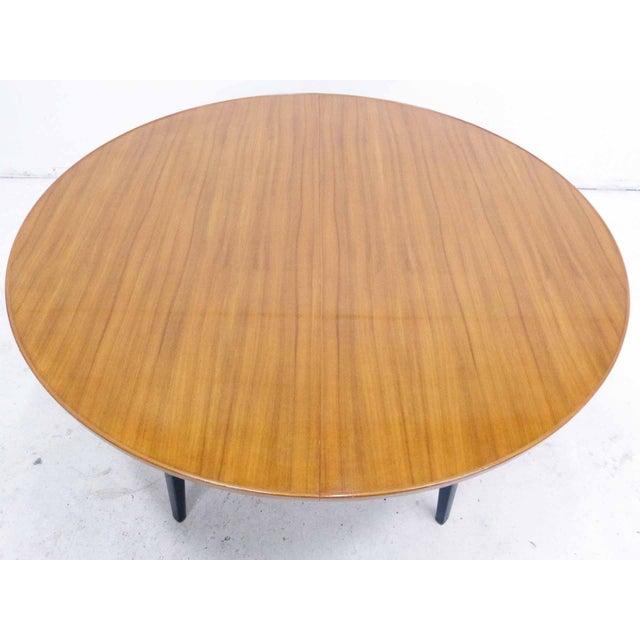 Edward Wormley for Dunbar Round Mahogany Dining Table - Image 3 of 10