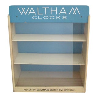 Countertop Mercantile Display Case Waltham Clocks