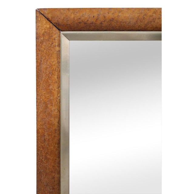 Birds-Eye Maple Frame Mirrors - A Pair - Image 3 of 5