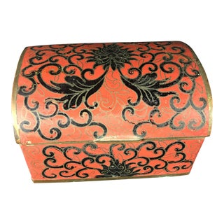 1930s Chinese Cloisonné Trinket Box