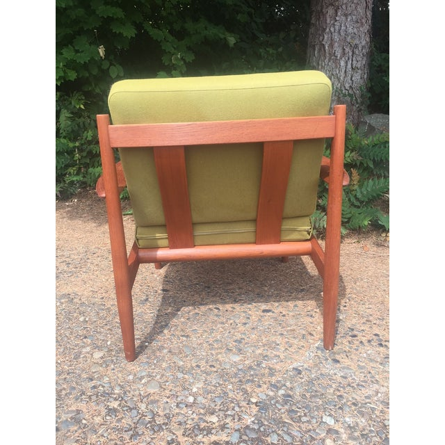 Grete Jalk Chartreuse Lounge Chair - Image 5 of 11