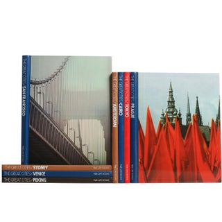 Vintage Time Life: Great Cities Books - Set of 8