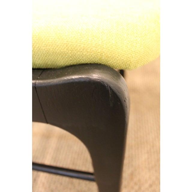 Mid-Century Danish Modern Ebonized 'Citron' Curved Back Dining Chairs - Set of 4 - Image 11 of 11