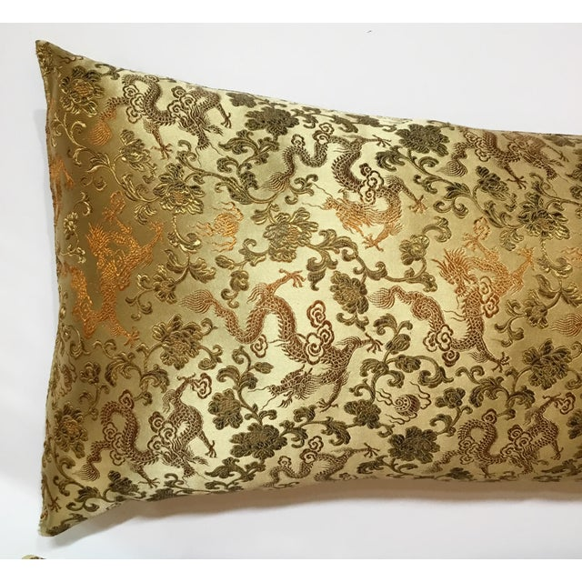 Chinese Silk Pillows - A Pair - Image 6 of 12